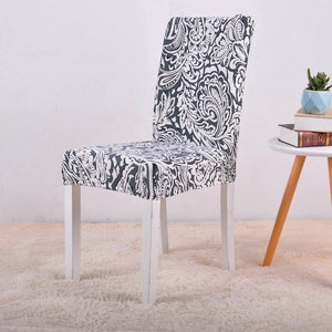 Dining Elastic Chair Covers - Universal Stretch
