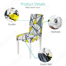 Load image into Gallery viewer, Dining Elastic Chair Covers - Universal Stretch