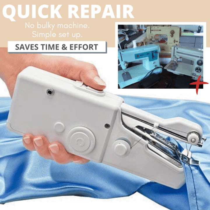Cordless Handheld Electric Sewing Machine
