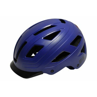 qt cycle tech helm urban style blauw maat l 58-62 cm 2810395