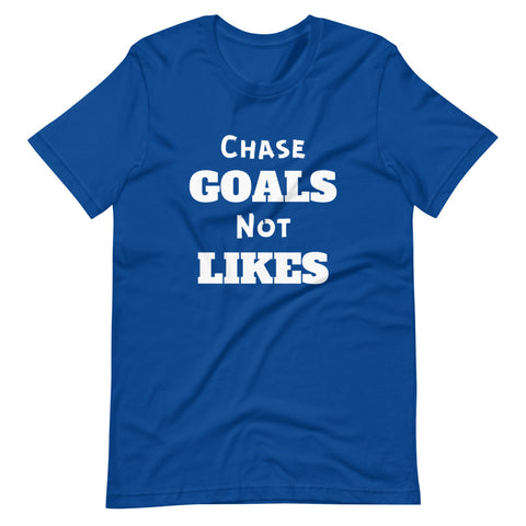 Goals Short-Sleeve Unisex T-Shirt