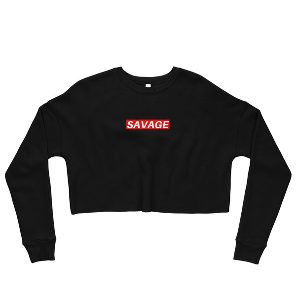 Savage Crop Sweatshirt