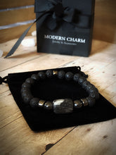 "Load image into Gallery viewer, ""INSTINCT"" MCM Limited Edition Stone Bracelet"
