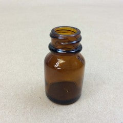10mL Glass Amber Packer with cap