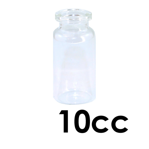 10mL Clear Serum Vial