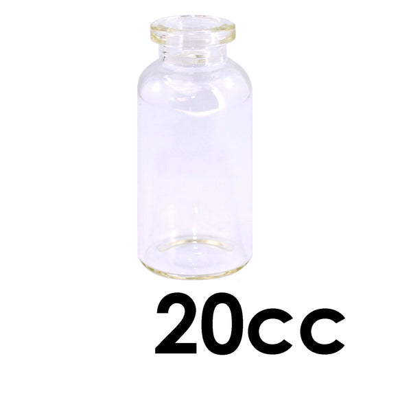 20mL Clear Serum Vial