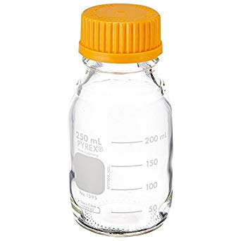 250 mL Round Media Storage Bottles