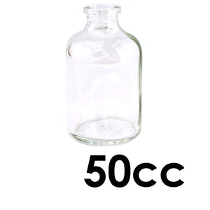 50mL Clear Serum Vial