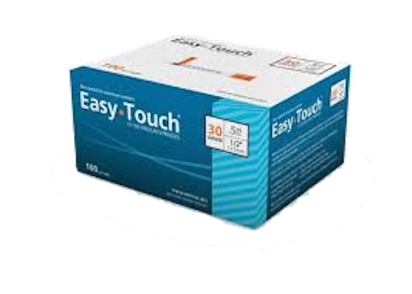 Easy Touch® Insulin Syringe 30G x ½'', 0.5cc