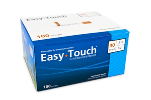 Easy Touch® Insulin Syringe 30G x  ⁵⁄₁₆'', 0.3cc