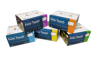 Easy Touch® Insulin Syringe 30G x  ⁵⁄₁₆'', 0.5cc