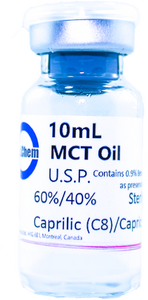 MCT Sterile Oil 10mL Flip Top Vial