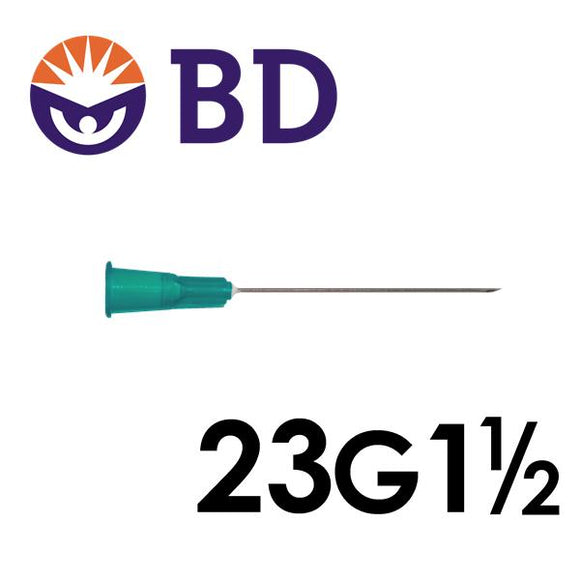 BD™ PrecisionGlide™ Needle 23G x 1 ½""