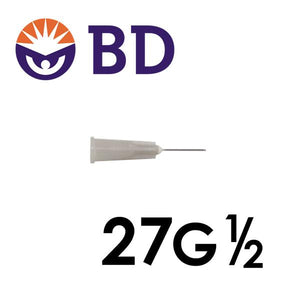 BD™ PrecisionGlide™ Needle 27G x ½""