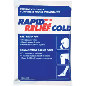 "Rapid Relief Instant Cold Pack 5"" x 4"""