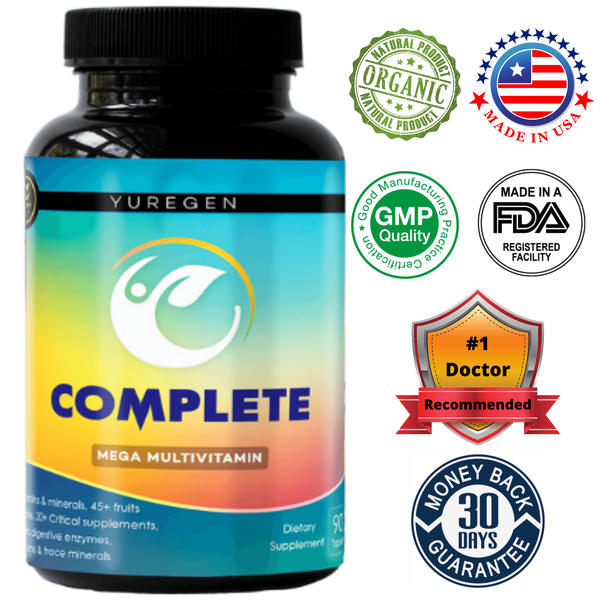 Yuregen Complete Multivitamin--100+Ingredients Yuregen