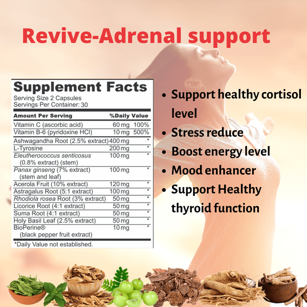 Revive-Stress relief-adrenal support - Yuregen
