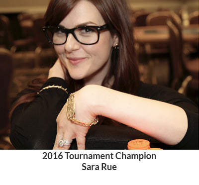 2016 Tournament Champion Sara Rue