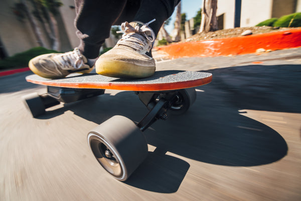 Electric Skateboard with KickTail - Moonshine MFG Spark