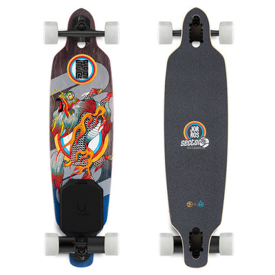 "Sector 9 Fractal 36"" Electric Longboard - Revel Boards"