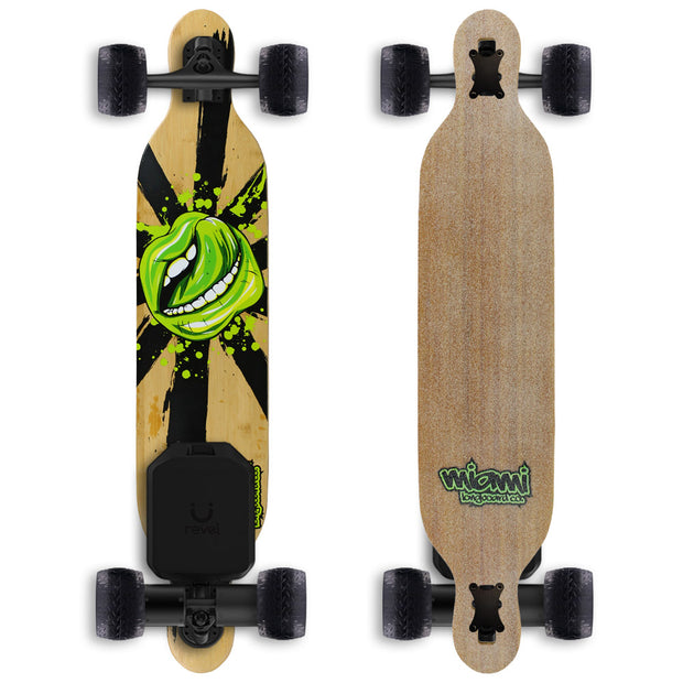 "Miami Mouth 42"" Electric Longboard - Revel Boards"
