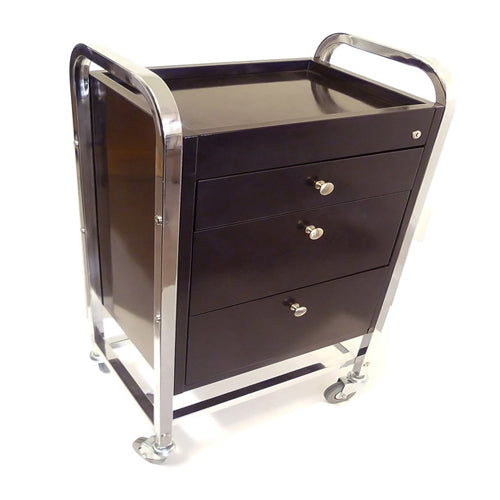 Mark 3 Drawer Wood and Metal Super Strong Trolley