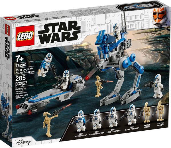 LEGO 75280 501st Legion™ Clone Troopers
