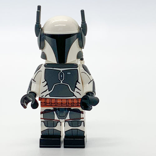 Jango Fett Custom minifigures star wars on lego bricks clone trooper