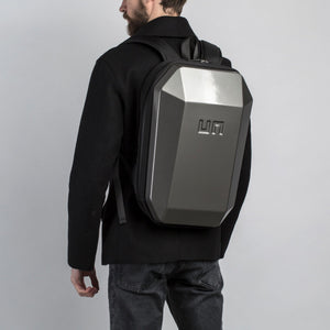 Stealth Backpack L Metallic Grey back