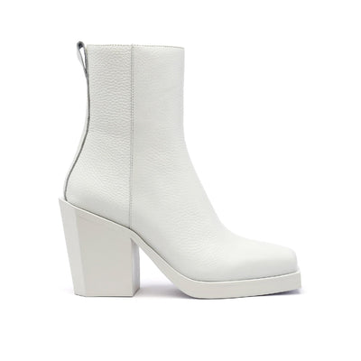 SRxUN Calf Boot Womens White out view