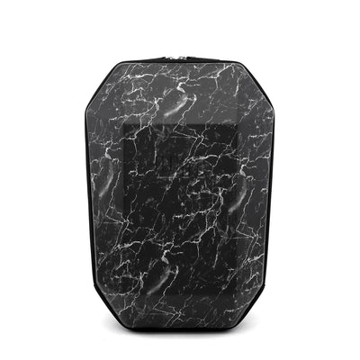 Stealth Backpack L Black Marble front