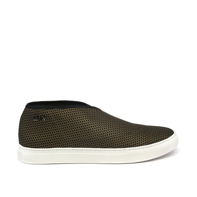 fold slip on mens gold out view