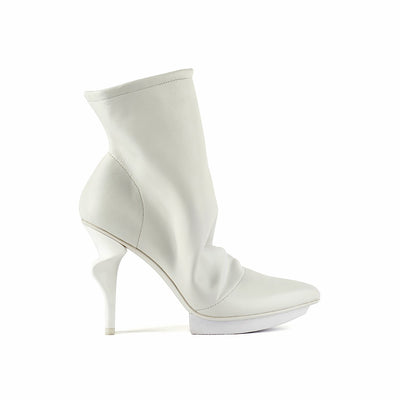 slouch boot white out view