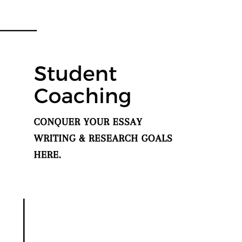 Student Coaching / Tutoring