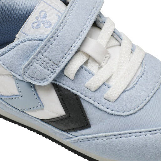 Hummel Reflex Infant Blue Fog Unisex Trainers