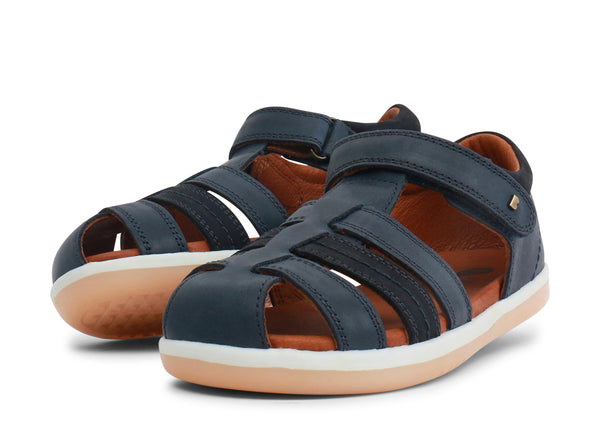 Bobux KP Roam Navy Closed Toe Sandals