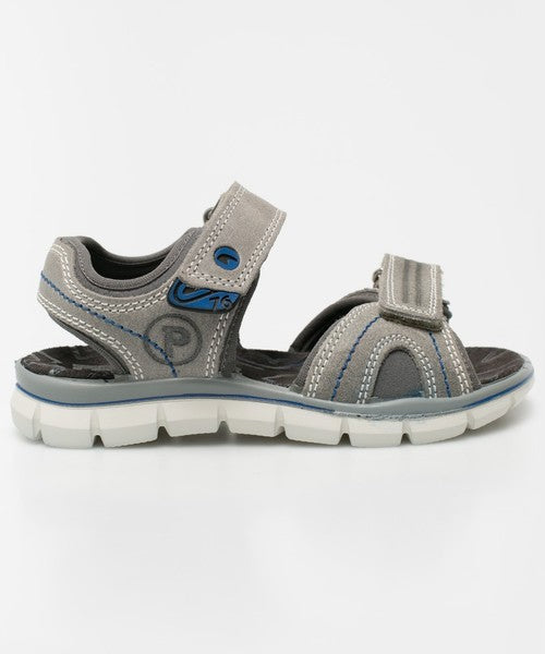 Primigi Grey Velcro Sandals