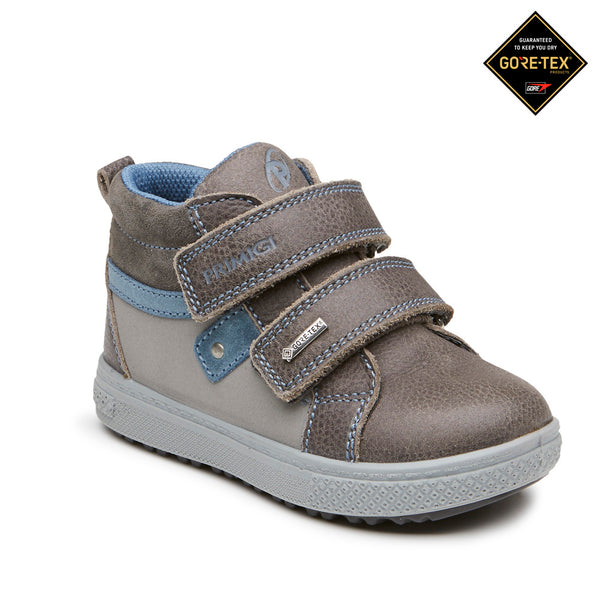 Primigi Grey Gor-Tex Leather Boots