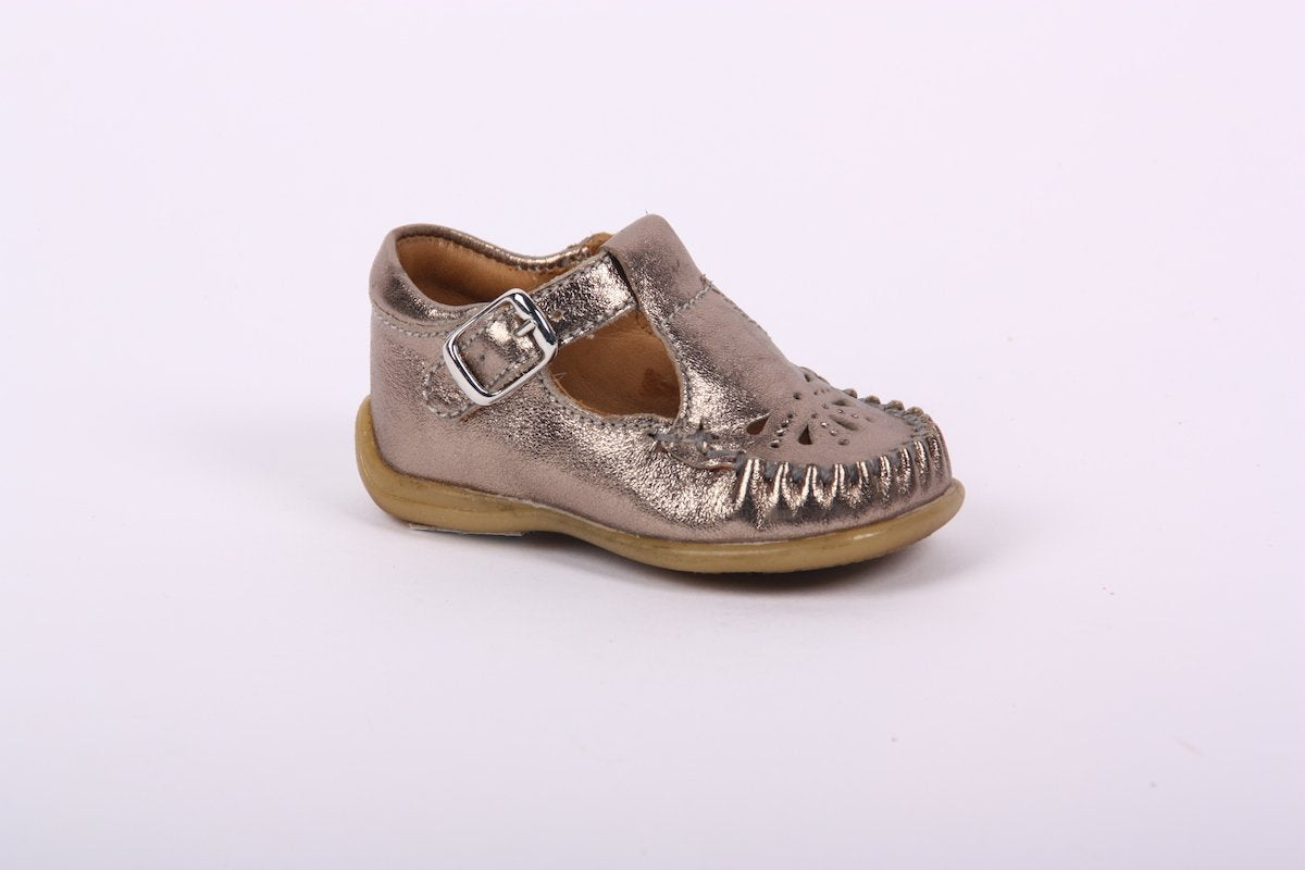 Bisgaard Sienna Detail T-Bar Shoes
