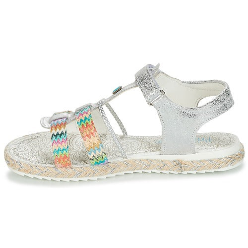 Primigi Silver Open Toe Sandals