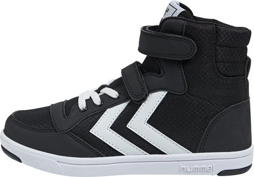 Hummel Black Stadil Ripstop Junior High Trainers