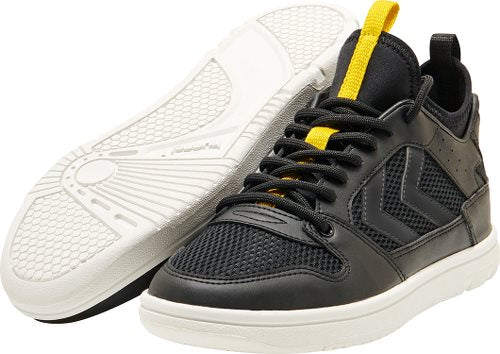 Hummel Black Power Play Mid Trainers