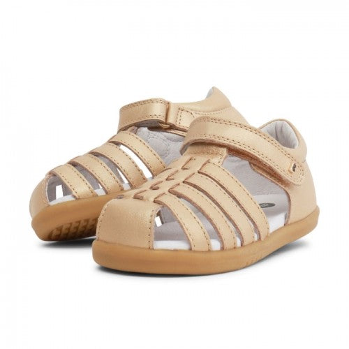 Bobux Jump Gold Closed Toe sandals