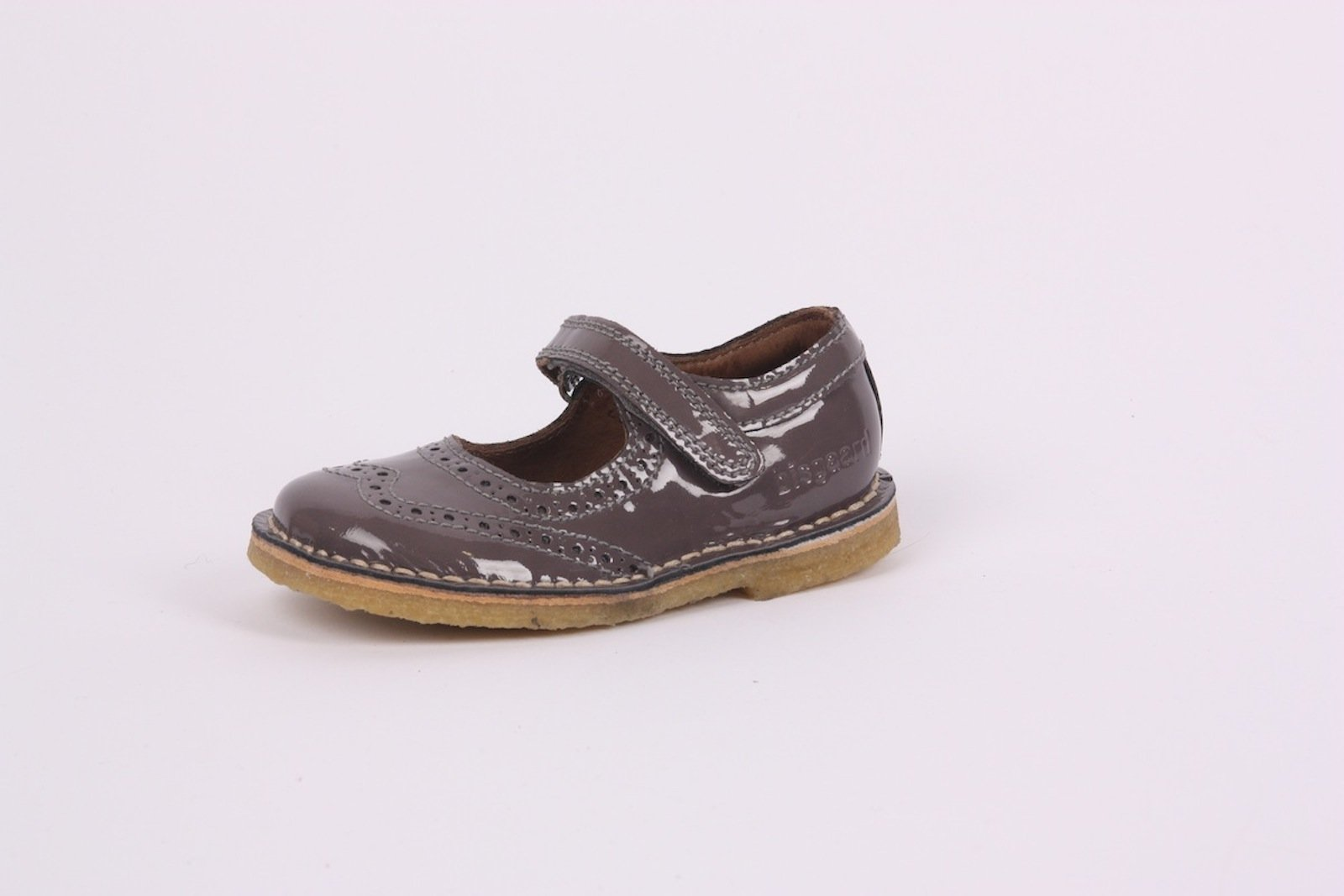 Bisgaard Mouse Brogue Patent Mary Janes
