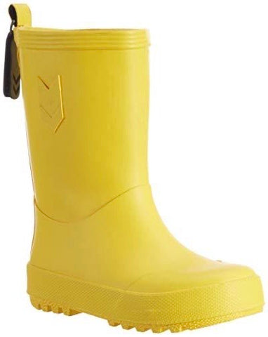 Hummel Yellow Waterproof Rubber Boots