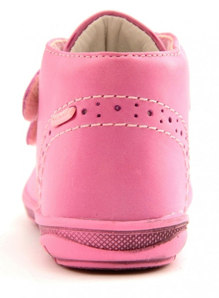 Primigi Pink leather Velcro Boots