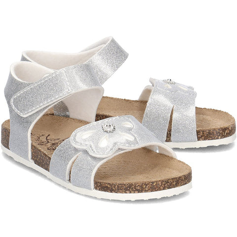 Primigi Silver Leather Sandals