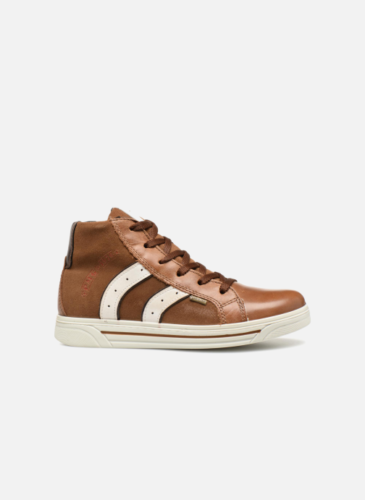Primigi Brown Leather High Trainers
