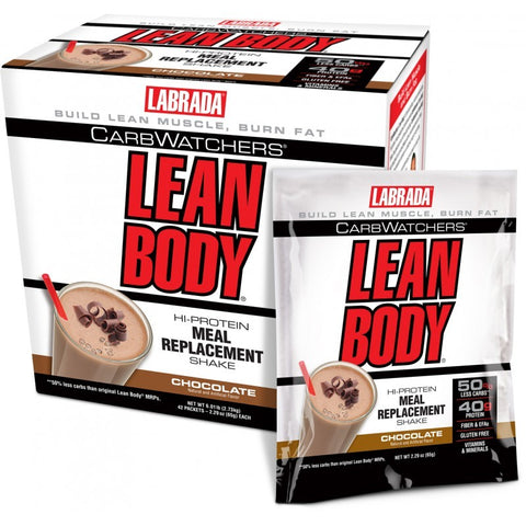 LEAN BODY CARB WATCHERS 42 Paquetes