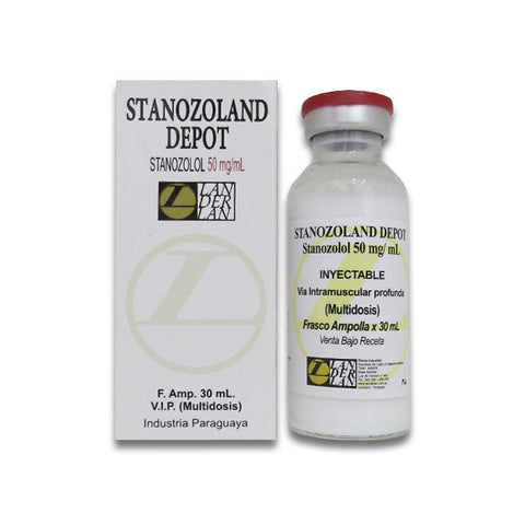 STANOZOLAND DEPOT 50 MG X 30 ML